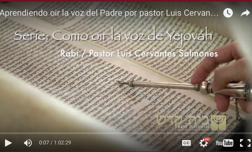 Aprendiendo oir la voz del Padre