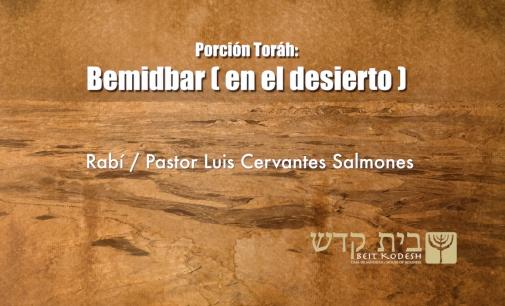 Porcion #34: Bemidbar / En el Desierto