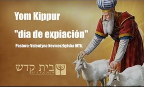 Yom Kippur / Día de Expiación