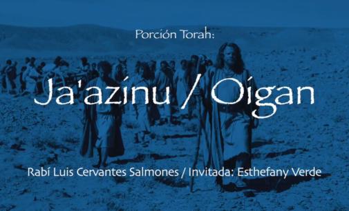 Shabbat Torah # 47: Ja'azinu / Oigan
