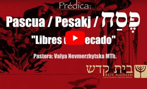 Pesakj: Libres de Pecado