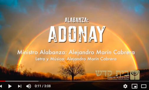 Adonay.  Selah con Alex Marin