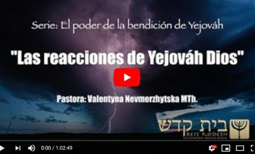 Las reacciones de Yejováh Dios