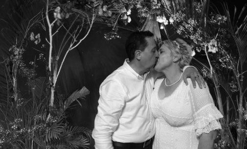 Renovación de votos matrimoniales. Pastores Luis y Valya.  15 años juntos