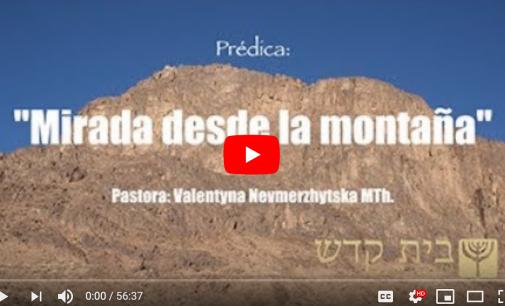 Mirada desde la montaña / Pastora: Valya Nevmerzhytska