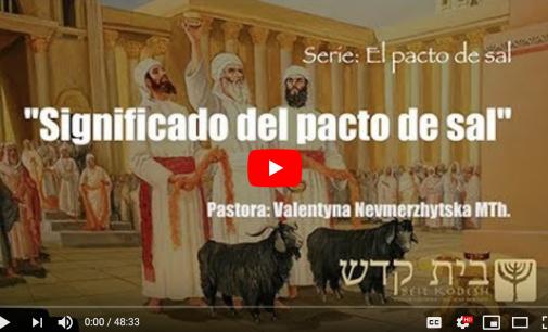"""""""Significado del Pacto de Sal"""". Serie: El Pacto de Sal, #2"""