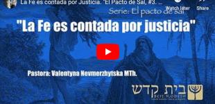 """""""La Fe es contada por Justicia"""". Serie: El Pacto de Sal, #3"""