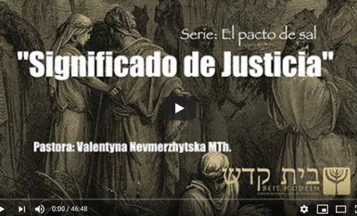 Significado de Justicia. Serie: El Pacto de Sal, #5