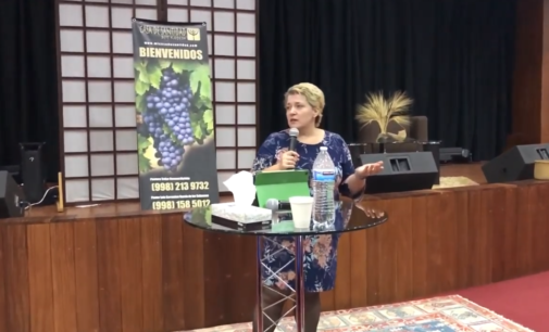 """El poder de Dios en nosotros, Parte III: """"El Poder de la Resurreccion"""".  Pastora Valya Nevmerzhytska MTh."""