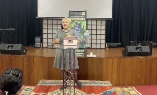 "Mini serie ""Mi poder en la debilidad"", Predica #3. Pastora Valya Nevmerzhytska MTh."