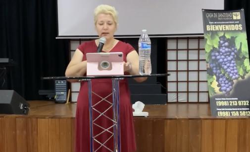 "Mini serie ""Mi poder en la debilidad"", Predica #4. Pastora Valya Nevmerzhytska MTh."