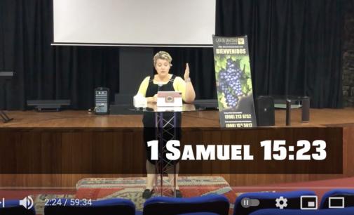 """Rebeldes contra rebeldía, Parte IV: """"Como se desarrolla la rebeldía"""". Pastora Valya Nevmerzhytska"""
